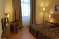 Hotel room in Budapest - elegant double room of The Three Corners Hotel Bristol