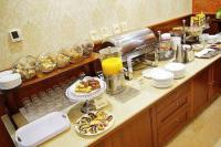 Buffet breakfast in Hotel Gold Wine & Dine Buda in Budapest