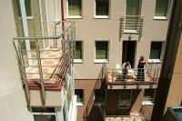 Six Inn Hotel in the center of Budapest, cheap accomodation in Budapest, with balcony