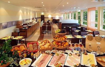 Rich and healthy buffet-style breakfast is served daily in the Restaurant - Star Inn Hotel*** Budapest Centrum, affordable hotel near the Great Boulevard in the centre of Budapest