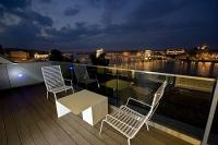 Fascinating view on the riverbank - Hotel Lanchid 19 - suite with terrace - design hotel Budapest Lánchíd 19 Hotel**** Budapest - Design Hotel Budapest -