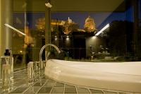 Suite in Lanchid 19 hotel - view on Chain Bridge and Pest riverbank, design hotels In Budapest - Lanchid 19