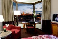 Sofitel Chain Bridge Hotel in Budapest - luxury room with great panorama to the palace